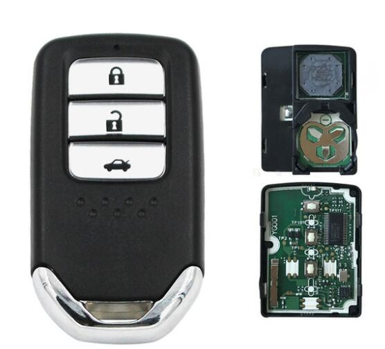 BR KEY 3 Button Smart Remote Key Fob 434MHz 47 Chip for Honda Accord Crider part number:72147-T2A