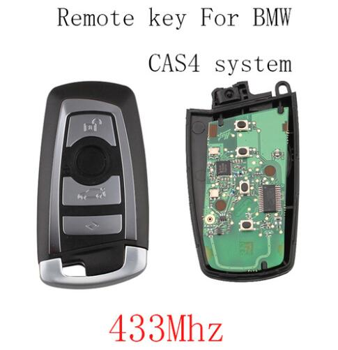 BR KEY 433Mhz Smart Remote Key Fob For BMW 3 5 7 Series CAS4 System 2010 2011 2012 2013 2014 2015 2016 Original keys