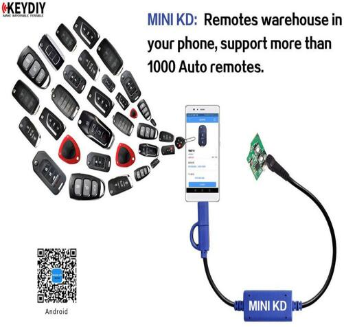 BR KEY Original KEYDIY Mini KD Key Maker Generator Remotes Warehouse in Your Phone Support Android Make More Than 1000 Auto Remotes Rated 5.0 /5 based on 30 customer reviews  5.0 (30 votes) 61 orders
