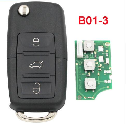 BR KEY 3 Button Remote Control Key B5 Style Remote Key for KD900 KD900+ KD200 Mini KD B01-3 Remote Key Universal Remote B-Series B01-3