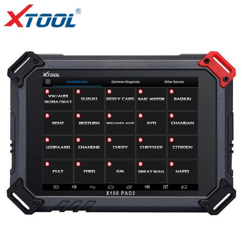 BR KEY 2018 XTOOL X100 PAD2 OBD2 Auto Key Programmer Odometer Correction Tool Code Reader Car Diagnostic tool with Special Function